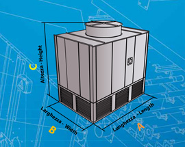 Water cooling Towers without basin