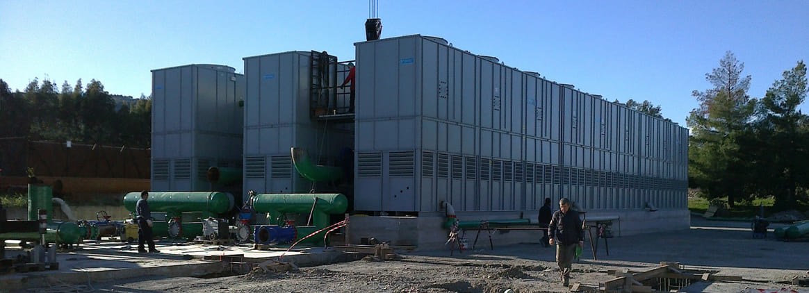 Cooling towers applications