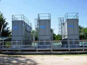 Cooling towers Aluminum plant