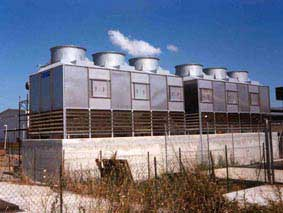 Cooling towers Food plant