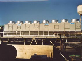 Cooling Towers Steel mill